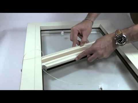 Fissaggio parete e soffitto binario per tende steelglyde - Ferma finestra ikea ...