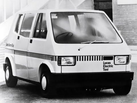 1976 Lucas Electric Taxi - Taxi eléctrico Lucas Industries, Londres. London Taxi
