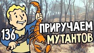 Fallout 4 Прохождение На Русском 136 ПРИРУЧАЕМ МУТАНТОВ