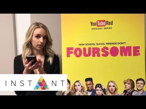 Jenn McAllister Describes 'Foursome' With Emojis | Instant Exclusive | INSTANT