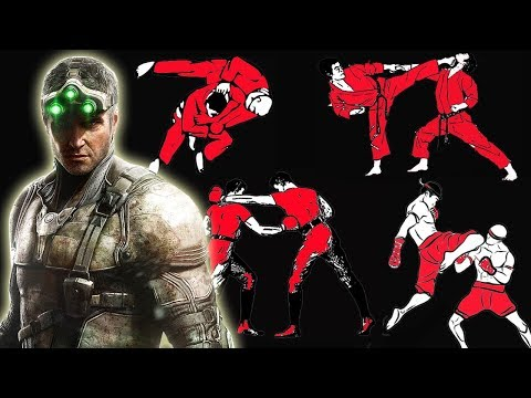 How Many Fighting Styles Does Sam Fisher Know In Splinter Cell: Blacklist?