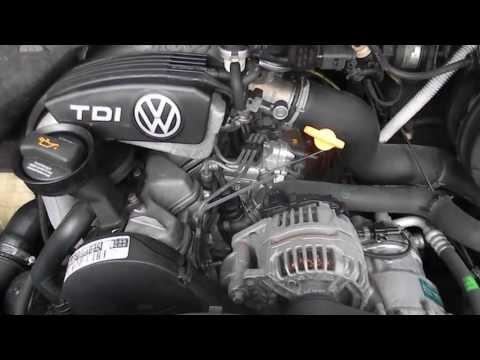 Работа двигателя Vw LT 2.5TDI 109л.с.