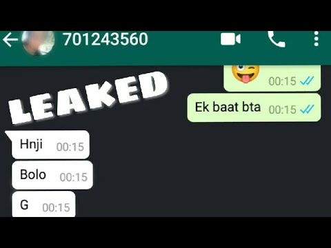 Sex Chat With Ex Gf - Naughty Chat LEAKED