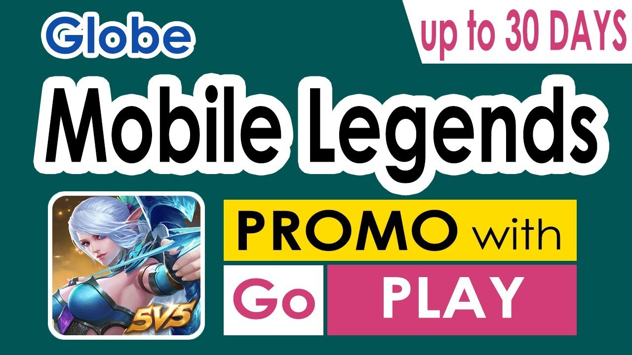 Globe Mobile Legends Promo – 2GB data for ML + Open Access Data