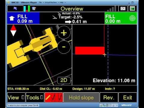 MACHINE CONTROL TRAINING: Using Guidlines In Umc3D