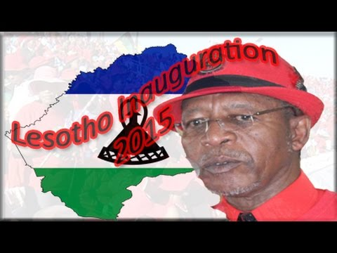Lesotho Inauguration 2015 part 2