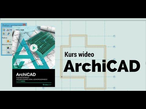 ArchiCAD. Projektowanie Domu Jednorodzinnego - Trailer Kursu | Videopoint.pl