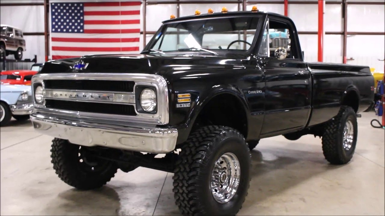 hight resolution of 1969 chevy c20 black
