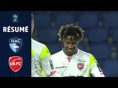 Le Havre Valenciennes Goals And Highlights