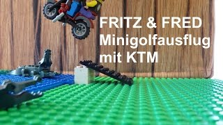 Fritz und Fred Minigolf Lego KTM mini movie stop motion