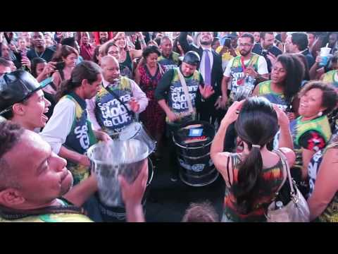 New York City | Times Square, Manhattan - Brazil Dance Party