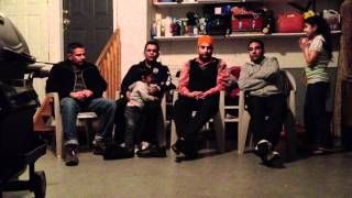 punjabi people singing kawishri
