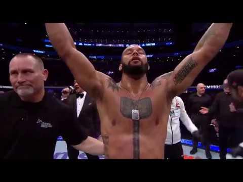 UFC 231: Thiago Santos Octagon Interview