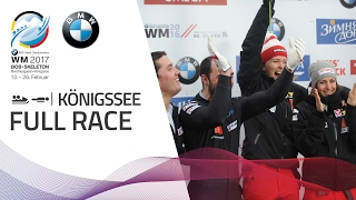 Full Race Team Competition | KÖnigssee | BMW IBSF World Championships 2017