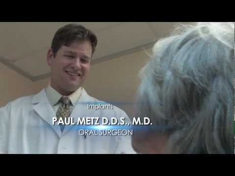 Dental Implants with Cosmetic Dentist Dr. Paul Metz