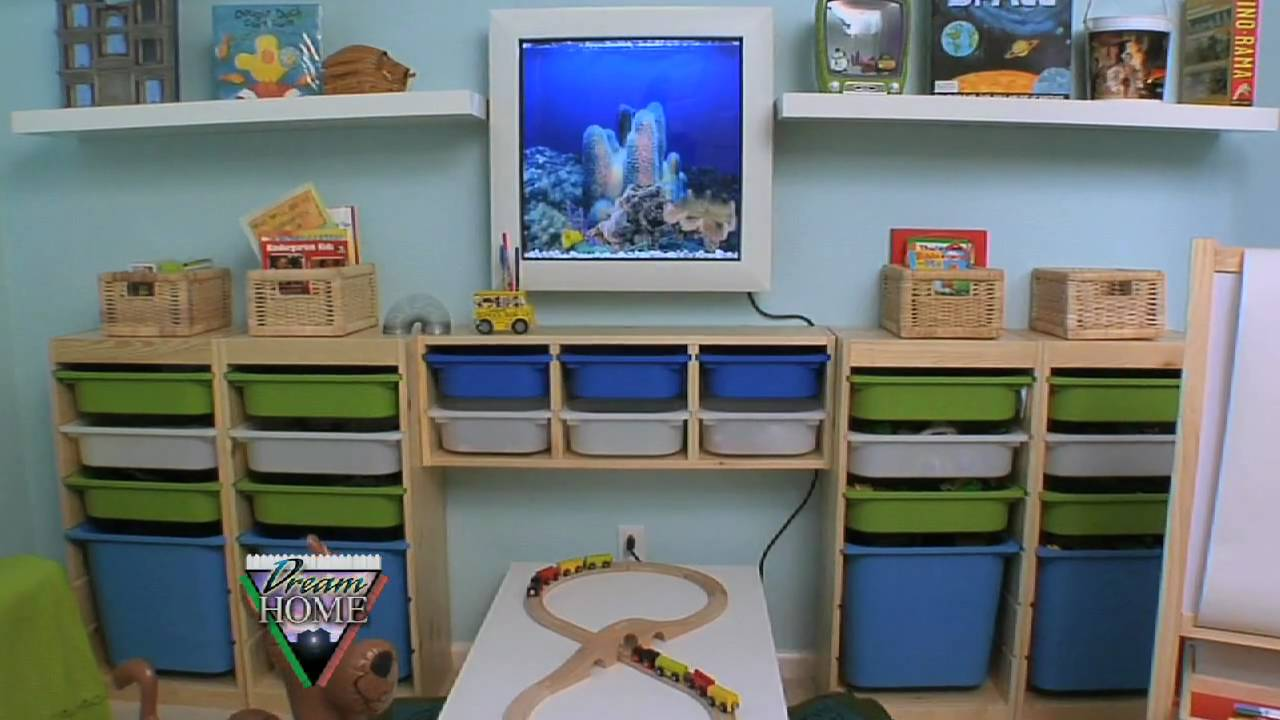 Trofast Montessori Ikea Brentwood Playroom After