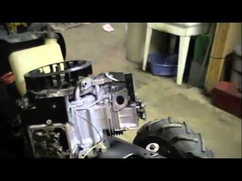 Paint, New Motor, And Pulley Change (Offroad Lawn Mower)