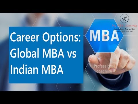 Career Options: Global MBA vs Indian MBA