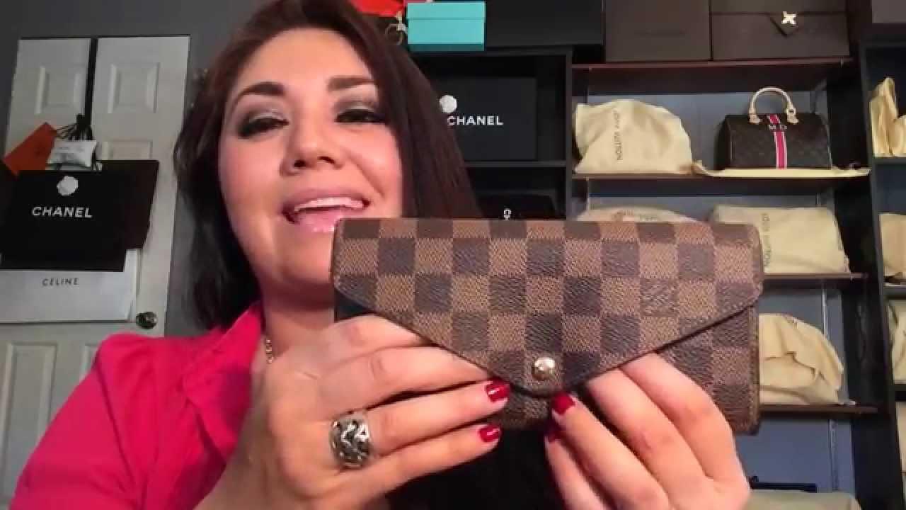 a89fa50ed385 Louis Vuitton Wallet Collection 2015 - YouTube