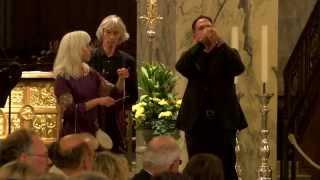 Teil 1 des Engelskonzerts im Aachener Dom anlässlich des Chorhallenjubiläums 2014