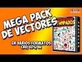 MEGAPACK DE VECTORES 100% GRATIS