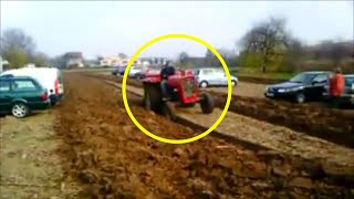This Farmer Was Sick Of People Parking On His Land So He Set UP The Perfect Revenge