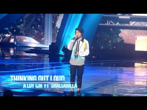 Aldi CJR Ft Salshabilla - Thinking Out Loud at ISMA 2K16