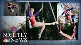 Meet The 86-Year-Old Soaring To Great Heights As The World's Oldest Trapeze Artist | Nightly News