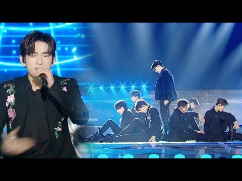 GOT7, 클래스가 다른 블랙수트 'LOOK' @2018 SBS 가요대전