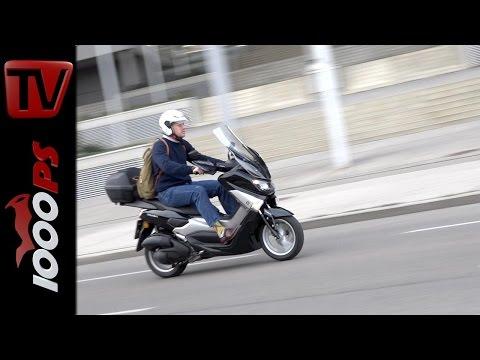 Yamaha NMAX 125 Test 2016