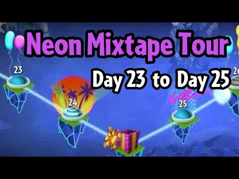 Plants vs Zombies 2 - Neon Mixtape Tour Day 23 to Day 25