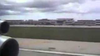 Nose wheel up landing with evacuation