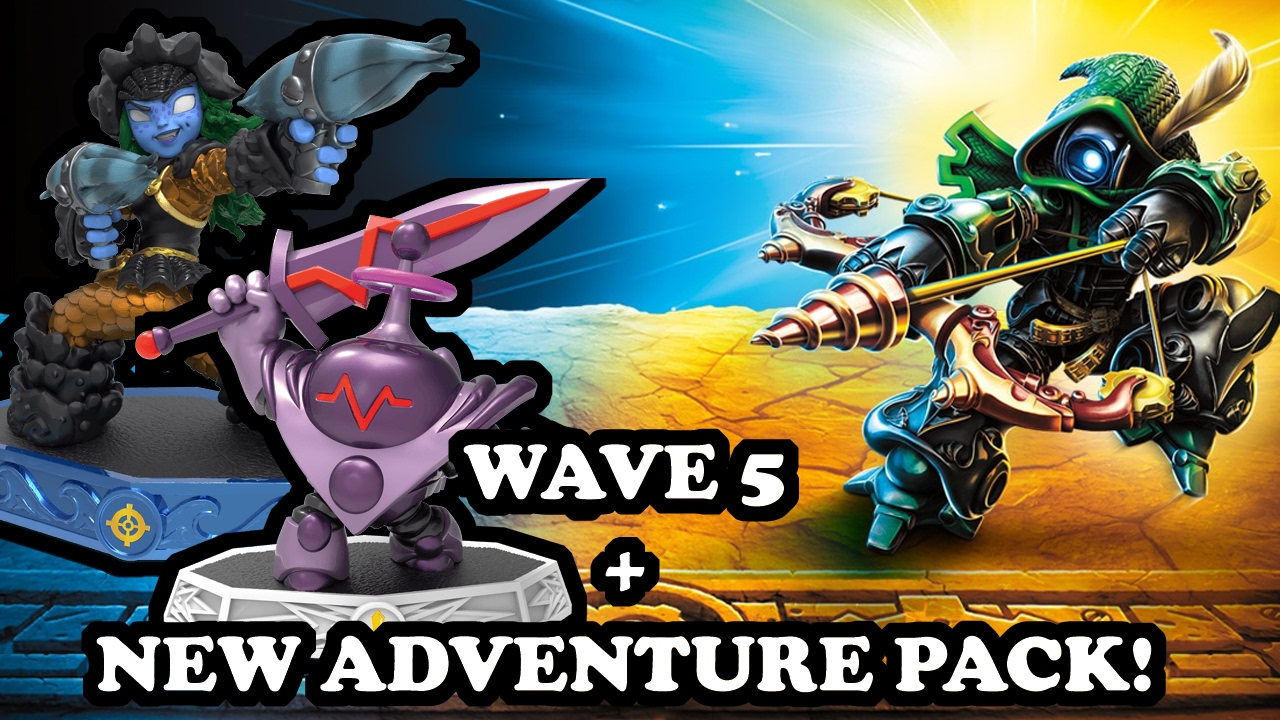 Skylanders Imaginators - OMG! WAVE 5 + NEW ADVENTURE PACK ...
