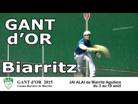 Gant d'Or 2015 - Casino Barrière de Biarritz - Cesta Punta