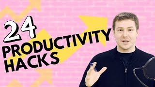 24 Ways to Increase Productivity at Work