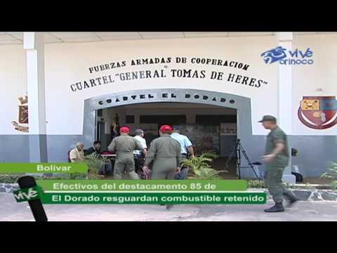 DECOMISO DE COMBUSTIBLE EN LA POBLACIÓN DE EL DORADO