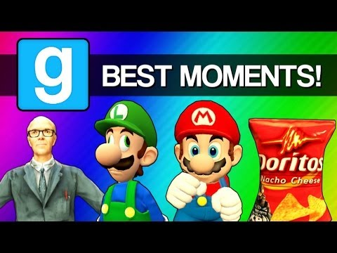 Gmod Best Moments - Sandbox, Prop Hunt, Scary Maps (Garry's Mod Funny Gaming Montage)