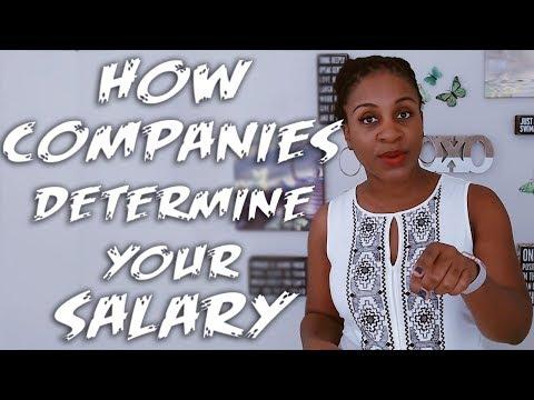 How Companies Determine Your Salary