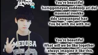 BTS Bangtan Boys   Beautiful ENG+ROM J Hope, Jimin, Jungkook & V