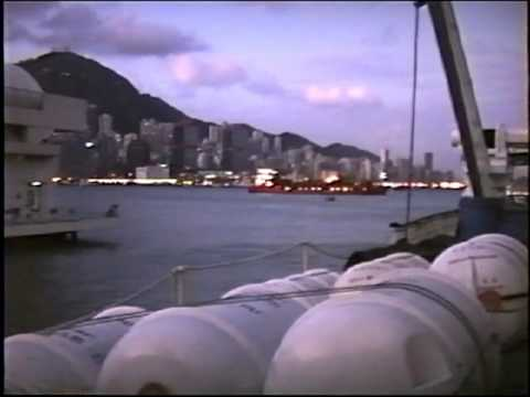 Video 239, Around the World Part 8, Guangzhou to Kowloon, 17 and 18  Nov  1992