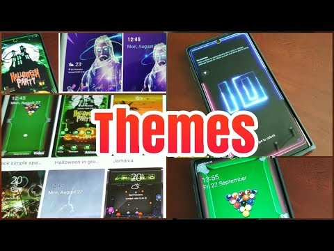 Samsung Galaxy Note 10  MY Best Themes FREE & PAID