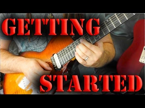 How To Start Playing Electric Guitar – Guitar Lesson