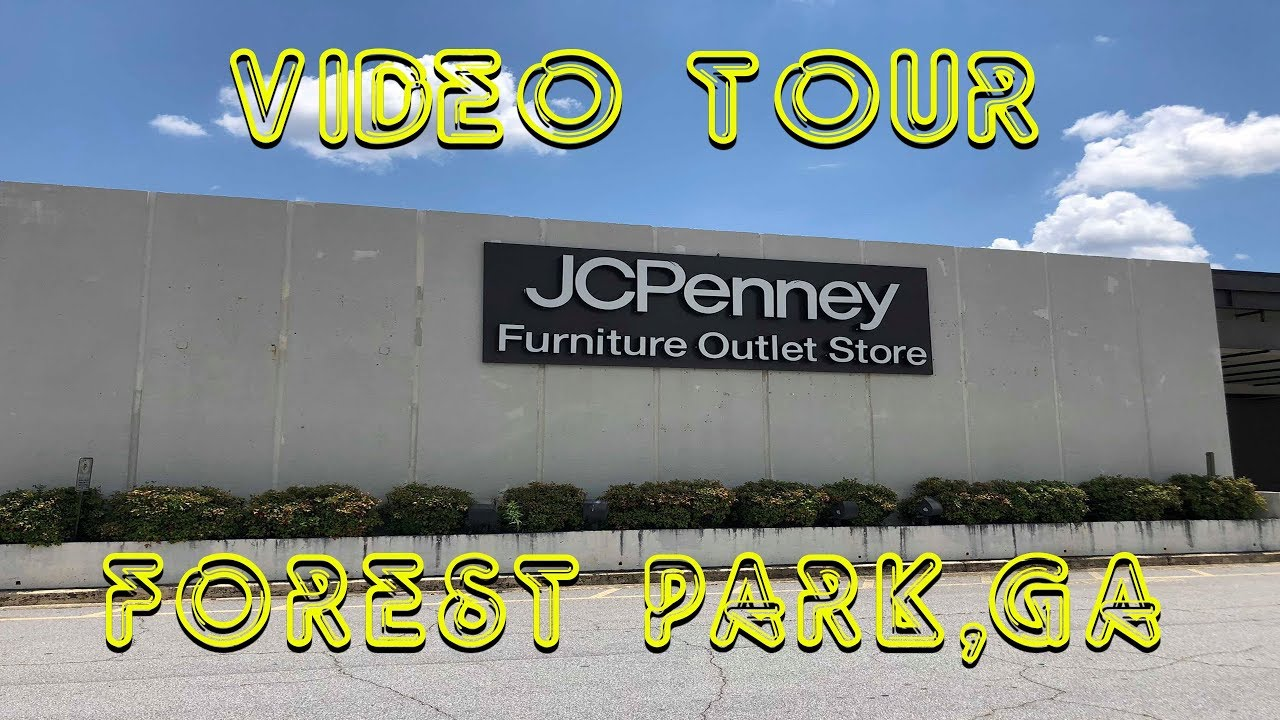 Vintage Jc Penney Outlet Store Forest Park Ga Youtube