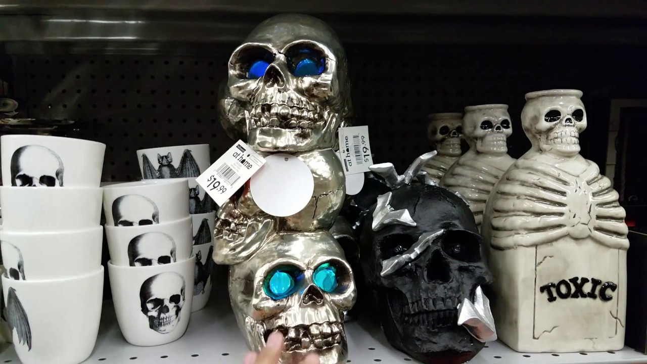 AT HOME STORE HALLOWEEN SHOP WITH ME DECOR U0026 PROPS 2018