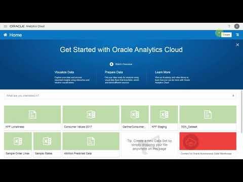 Oracle Analytics 2019 BI Bake Off Demo