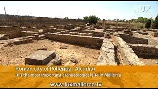 The Roman city of Pollentia (Majorca)