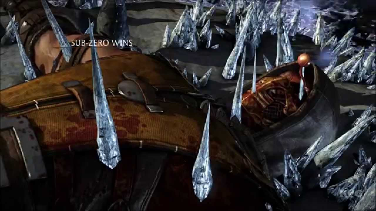 mortal kombat x subzero fatality bed of ice pc hd