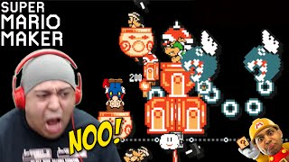 THIS IS A F#%KED UP B-DAY GIFT LMAO!! [SUPER MARIO MAKER] [#43]