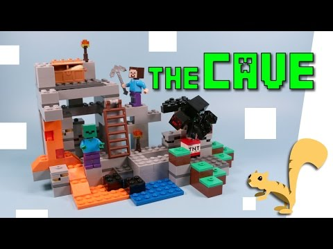 Thumbnail: Lego Minecraft The Cave Building Set Opening and Speed Build