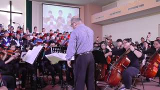 Amazing Grace Fantasia, John Newton, arranged and orchestrated by John L Yong